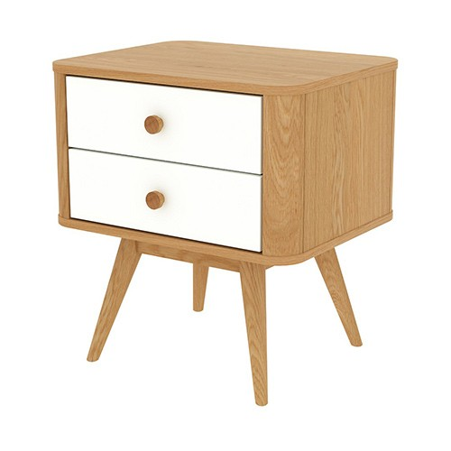Malm Chest Of 2 Drawers Can Also Be As A Bedside Table