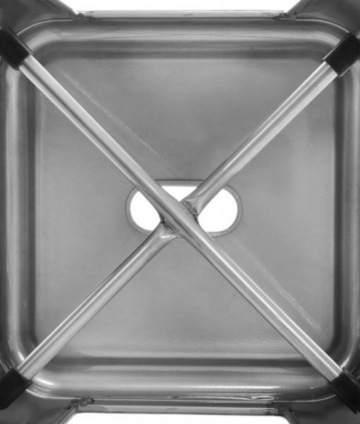 Tolix Kitchen Bar Stool 76cm Metallic Gloss
