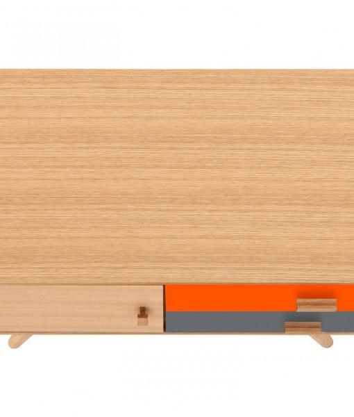Scandinavian-Sideboard-Buffet-Oak-Orange-7