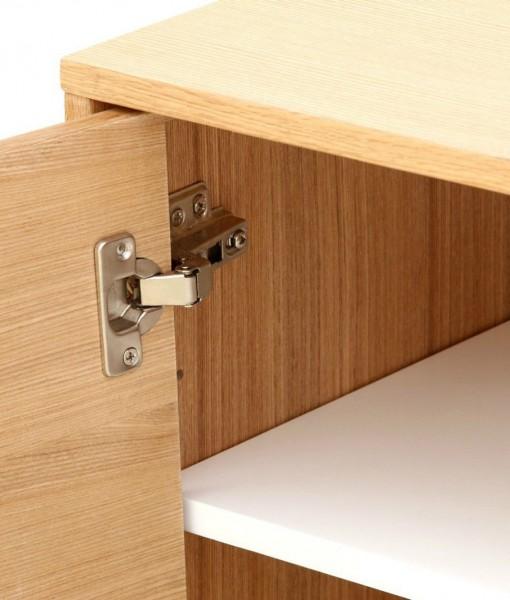 Scandinavian-Sideboard-Buffet-Oak-Orange-Grey-6