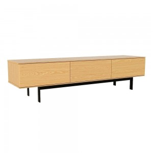 TV-Stand-180-cm-American-Oak-Lowline-Entertainment-Unit-3