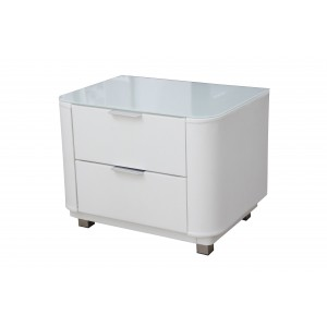 Gaby Bedside White