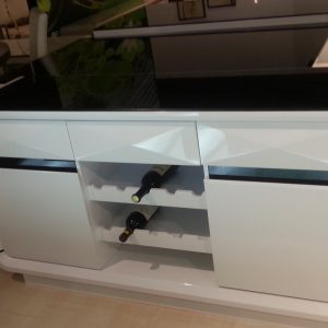 Onsu Buffet Table Black White Ori