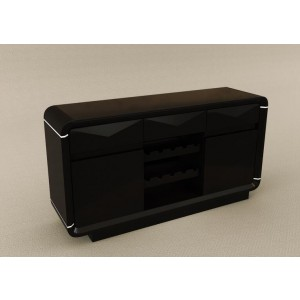 Onsu Buffet Table Black