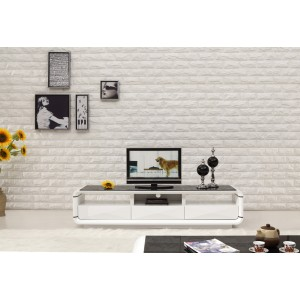 Onsu TV Unit Black White