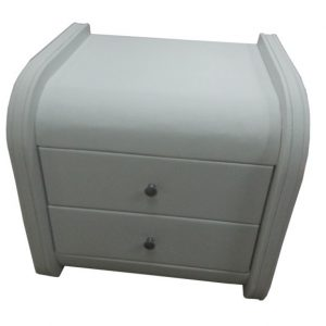 Barcelona bedside table white ori