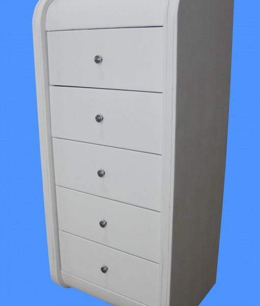 Barcelona tallboy small table white ori
