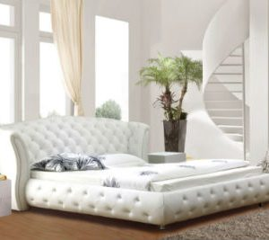 Chelsea bed frame white small