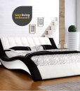 Isda Bed Frame Cow Leather