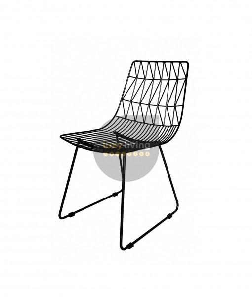Replica Bend Wire Chair - Black