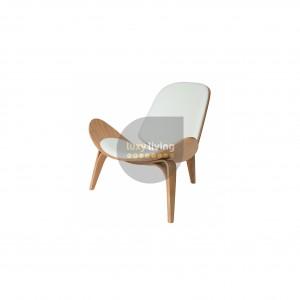 Replica Hans Wegner Shell Chair - White