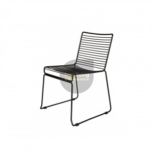 Replica Xavier Studio Bend Wire Chair - Black