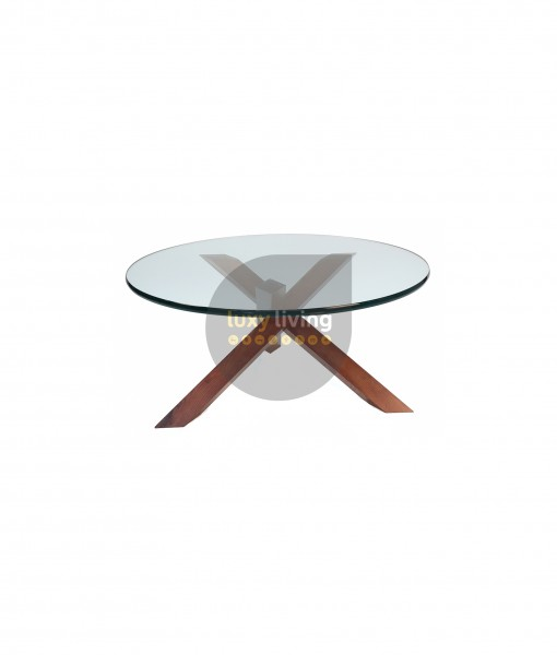 Replica Petar Zaharinov Puzzle Coffee Table - Walnut