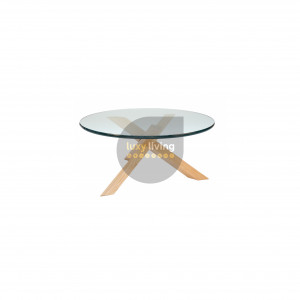 Replica Petar Zaharinov Puzzle Coffee Table - Natural